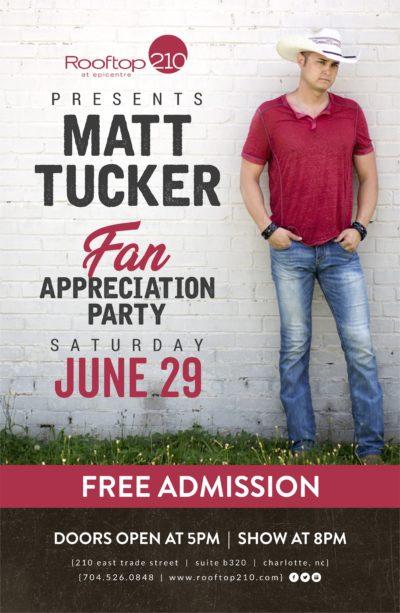 Matt Tucker Fan Appreciation Party