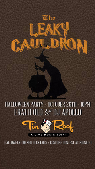 The Leaky Cauldron Halloween Party
