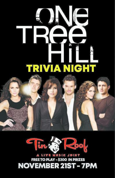 One Tree Hill trivia Night