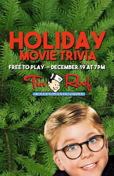 Holiday Movie Trivia Night