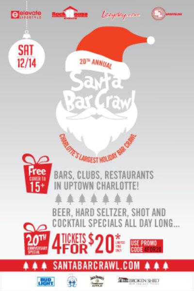 Santa Bar Crawl